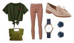 """""""Egzamin 20"""" by kodstylu on Polyvore featuring moda, AG Adriano Goldschmied, Simon Miller, FOSSIL, Lulu Frost i Banana Republic"""