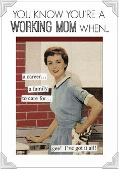 The Pampered Baby: Back to Work Mom: Returning to Work After Kids & $ Tips for Familes