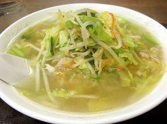 タンメン 湯麺