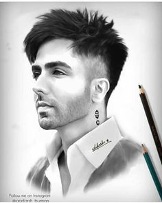 Our website help users to find best Social Groups Links and Loot offers. Our main goal is to keen knowledge and give you the information which we have Pencil Sketches Of Faces, Realistic Pencil Drawings, Girl Drawing Sketches, Art Drawings Sketches Simple, Portrait Sketches, Cute Drawings, Iron Man Photos, Hardy Sandhu, Hairstyle Names