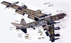 ボーイング社は、爆撃機B-52の近代化され、