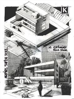 Villa Stein - Le Corbusier