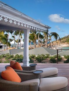 Suites offer large private pools and most have decks with rocking chairs and ocean views. Le Guanahani (St. Barthelemy, St. Barts) - Jetsetter