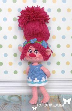Poppy Amigurumi Crochet Pattern by Maria by ToysbyAnilema