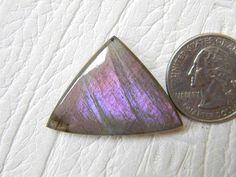 35x25 mm Purple / Pinkish Labradorite Loose Gemstone