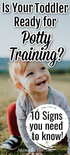 Do you think your toddler is ready to potty train or just don't know the signs? Read here to learn what to look for to know if your toddler is ready to potty train. Plus, you will learn how to prepare like a pro! Potty Training Pants, Toddler Potty Training, Training Tips, Training Schedule, Parenting Toddlers, Parenting Hacks, Toddler Shows, Best Potty, Toddler Bedtime