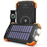 Some solar chargers have USB port which can be used for charging. But, some devices are more power hungry and will require an adapter for fast and effective charging. So, go on and hover the cursor and scroll down the top 10 best solar phone chargers. Solar Powered Phone Charger, Solar Phone Chargers, Solar Charger, Portable Charger, Walkie Talkie, Solar Panels, Flashlight, Compass, Camping