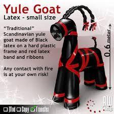 Latex yule goat