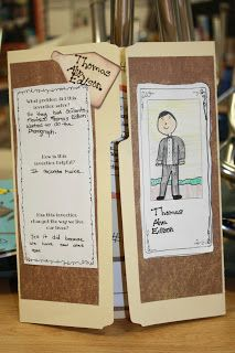 This assignment is for students to create a brochure for a famous inventor. Students can talk about the inventions, the inventor, the purpose of the invention, and the impact it had on the world. This would be a great way for students to showcase their learning in a fun way.
