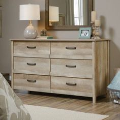 Sauder Cannery Bridge 6 Drawer Dresser - 419071