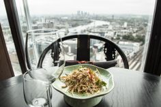 Halfway up The Shard, this glitzy Hong Kong import offers high-end Chinese food with some of the best views in London. Our full review: http://www.timeout.com/london/restaurants/hutong