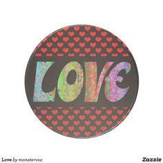 Love Drink Coaster #Love #Emotion #Hearts #Relationship #Family #Home #Decor #Beverage #Drink #Coaster