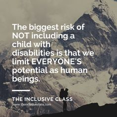 The Inclusive Class: What is Your Potential?