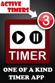 Timer+ Time ($0.00) Timer+ is a revolutionary timer app that puts active running timers right on the app icon. You never have to wonder how many timers are currently running anymore! Simplicity is the heart and key of this app. Adding, stopping, starting a timer should not be a chore and with its huge display of buttons it won't be. See different colors for timers. - RED TXT - timer is Done - GRAY TXT - timer is paused - BLACK TXT - timer is running