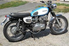 Kawasaki tt 400 scrambler