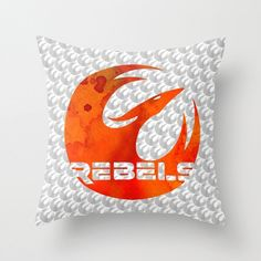 Star Wars Rebels Pillow Cover by foreverwars on Etsy, $40.00