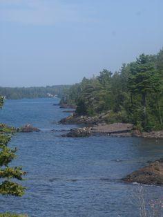 Lake Superior shorline, between Copper Harbor & Eagle Harbor MI