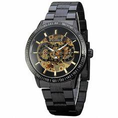 $24.99 (Buy here: https://alitems.com/g/1e8d114494ebda23ff8b16525dc3e8/?i=5&ulp=https%3A%2F%2Fwww.aliexpress.com%2Fitem%2FWinner-Luxury-Men-Automatic-Mechanical-Wrist-Watch-Black-Stainless-steeel-Band-Tachometer-3D-Golden-Skeleton-Watch%2F32609051398.html ) Winner Luxury Men Automatic Mechanical Wrist Watch Black Stainless-steeel Band Tachometer 3D Golden Skeleton Watch + BOX for just $24.99