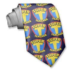 Super Teacher Tie