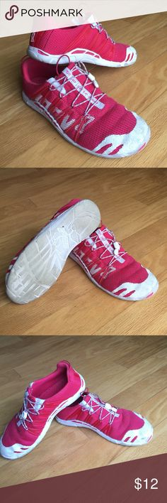 Inov-8 Bare X-Lite 135 - rose color Great minimalist sneakers awesome for running, CrossFit, powerlifting. Worn a small handful of times. Great condition. Small signs of wear. Very comfortable and light shoes. inov-8 Shoes Athletic Shoes