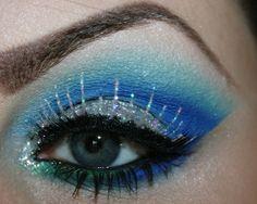Icy winter #makeup on @Makeupbee