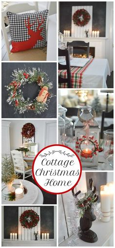 Cottage Christmas Home Tour day one