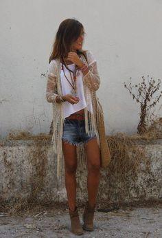 Latest boho chic spring fashion