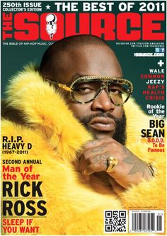 Hip hop and fur go hand in hand, so when it comes to fashion within the rap business there is no better way to portray a lavish, over the top lifestyle Fur Hat World, Source Magazine, Rap Albums, Hip Hop Artists, Music Artists, Rick Ross, Love N Hip Hop, Music Magazines, Big Sean