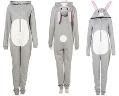 Bunny animal all-in-one-- i really want this for my birthday/new years/christmas present!!!!!!