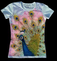 camisas pintadas a mano...