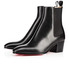 """Build your Fall/Winter wardrobe with """"Gadessita"""". This beautiful basic adds a chic 55mm heel and hooked pointed toe to the classic Chelsea boot silhouette."""
