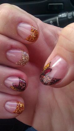 What do you think of these nails Lacey? I'm not one for fancy nails, but I think these are pretty darn cute.