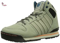 K-Swiss Si 18 Premier Hiker, Baskets mode homme, Gris - Grau (