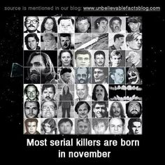 are serial killers born or created It's an age-old question in psychology and it comes up again every time the  public gets a glimpse inside the mind of a serial killer, as they do in.