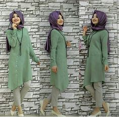 Gamze Polat Asimetric Tunic Green 55 Dolars You can order and informations whatsapp👉05533302701 @modaufku