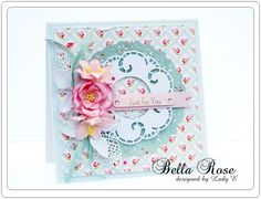 Beautiful Bella Rose papers and other embellishments from Forget me Not collection :) by Lady E