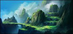 Hidden Treasures (Patreon Illustration Pack 02), Andreas Rocha on ArtStation at https://www.artstation.com/artwork/Y83lK