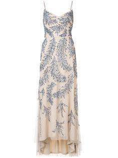 Aidan Mattox sequin embroidered dress