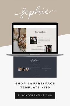 Sophie Squarespace Website Template Kit - The Sophie Squarespace Template Kit is a rustic and romantic website kit with a classic layout. It has been designed with photographers, designers, or. Web Design Trends, Design Websites, Site Web Design, Web Design Tips, Ux Design, Flyer Design, Creative Web Design, Best Web Design, Email Design