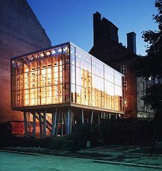 Neighbourhood Centre in Jemtelandsgade by Dorte Mandrup Arkitekter