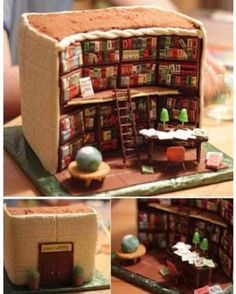 Library cake! #booksthatmatter #bookhugs #bloomingtwig #yourstory