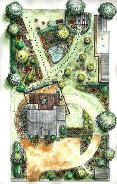Elements Of Landscape Design Best Landscape Sketch Ideas Images On Landscaping Home Improvement Natural Elements Landscape Design