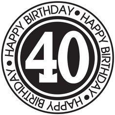 I need to ease myself into this and so my shock-absorption strategy starts here. 40th Birthday Images, Happy Birthday 40, Happy Birthday Football, 40th Birthday Quotes, Birthday Posts, Birthday Tags, 40th Birthday Parties, Birthday Messages, Birthday Greetings