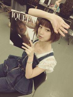 篠田 麻里子 : わくわく発売中!! http://blog.mariko-shinoda.net/2012/07/post-191.html
