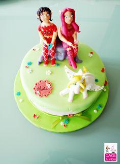 Os Mundos de Mia #Mia & Me #fondant cakes