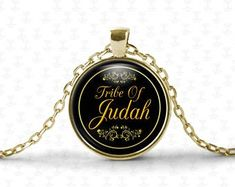 Hebrew Israelite Jewelry & Necklaces For The 12 by HebrewPrint Lion Necklace, Tribal Necklace, 12 Tribes Of Israel, Tribe Of Judah, Gold Plated Necklace, Cool Items, Necklace Lengths, Great Gifts, Jewelry Necklaces