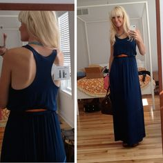 """I really like this maxi dress for its ease and versatility.  The only problem is, I am so short-I have an impossible time finding one to fit my 5'4"""" frame."""
