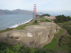 WWII san francisco - Old Gun Bunkers