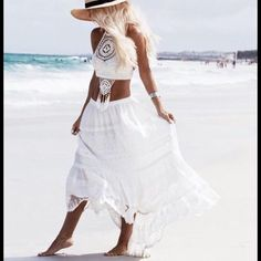 Spell & The Gypsy Collective Dresses & Skirts - Spell Boho Bella Castaway Skirt M or L NWT