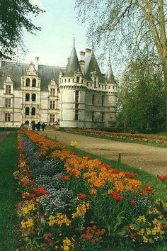 Chateau d' Azay le Rideau, Loire Valley, France